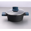 Good performance press aluminum elegant casserole