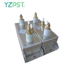 Condensateurs de chauffage électrique 363uF RFM 820Kvar 1000Hz