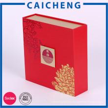 Caja magnética de encargo de papel grande hecha a mano al por mayor para el regalo