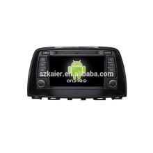 АНРОИД 4.4,автомобильный DVD с Bluetooth,зеркало-литой,видео,видеорегистратор,игры,двойной зоны,swc для Мазда 6 2014