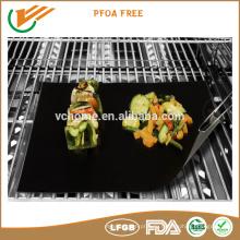 Пакет под заказ FDA LFGB сертифицированный PFOA свободный нелипкий гриль барбекю мат