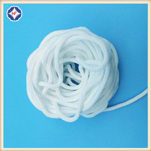 White Round Elastic Band For Face Masks