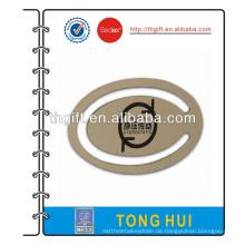 Metall-Lesezeichen mit ovalen Design
