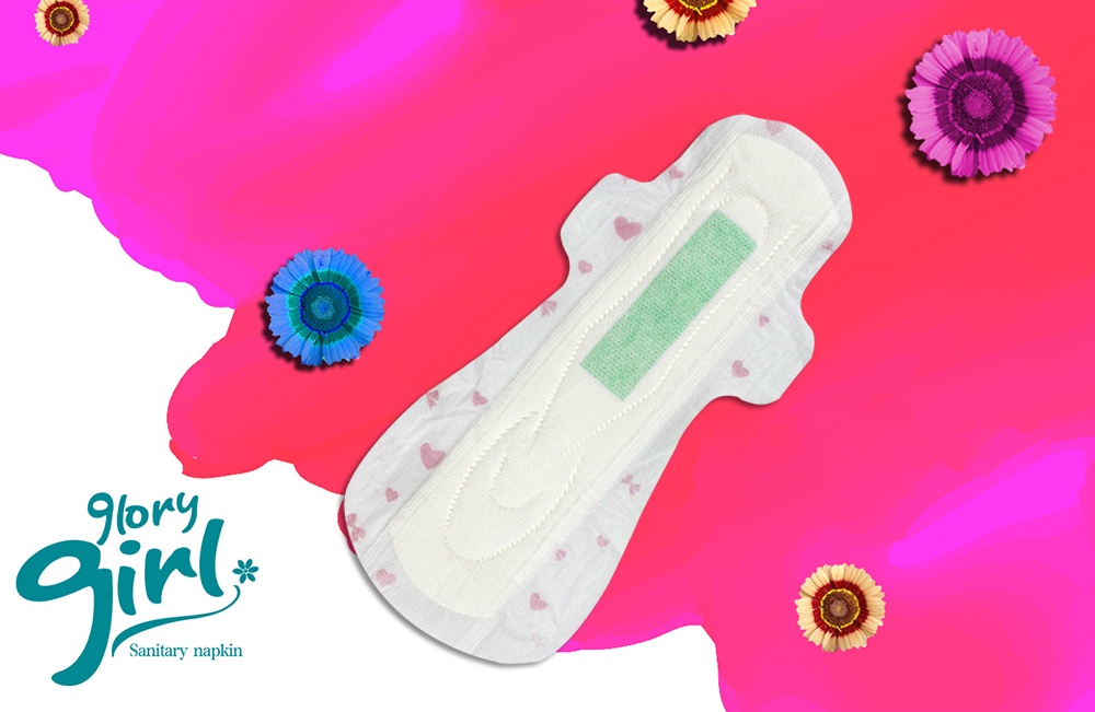 Sanitary Pads with Anion