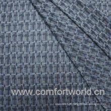 Jacquard Weave Fabric Com Poliéster