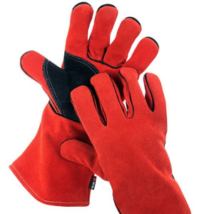 High Quality Leather Temperature Resistant Gloves