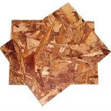 Outside used oriented strand board