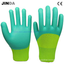 Breathable Foam Latex Coated Work Gloves (LH311)