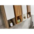 Armarios de almacenamiento de baño de doble lavabo