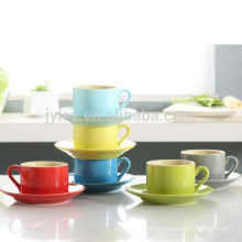 280мл красочные керамогранита керамическая чашка и блюдце
