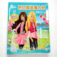 Китай поставщик настроить Party Girl магнитные платья стикер площадку