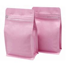 Pochette de sac d'emballage en papier d'aluminium personnalisé