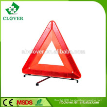 China supplier for emergency use reflective car triangle warning sign