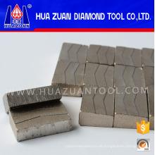 Korea Granit Segment für 1000mm Sägeblatt