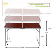 Mesa plegable ajustable de primera calidad