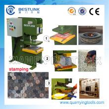 Venta caliente piedra presionando la máquina para encintado de granito