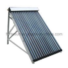Collecteur solaire de tuyau de chaleur de rendement élevé pour l'usage à la maison
