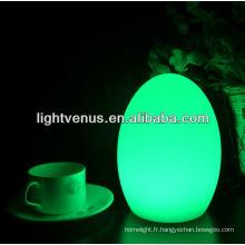 Décoratifs multicolores, changer les lampes de Table LED