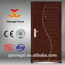 East european Style steel MDF armored exterior door