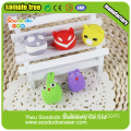 Puzzle playgame animal Shaped Eraser,pencil topper eraser
