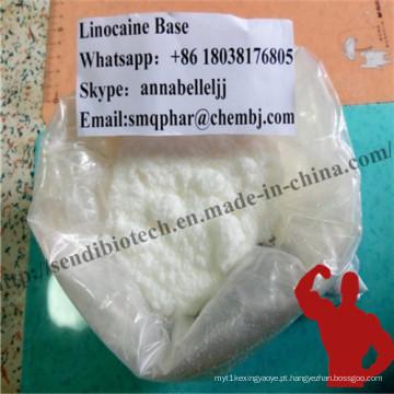 Lidocaína anestésica de Topleaders de 99% para aliviar a dor aguda CAS # 137-58-6