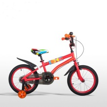 Red 16 inch boy kids bike