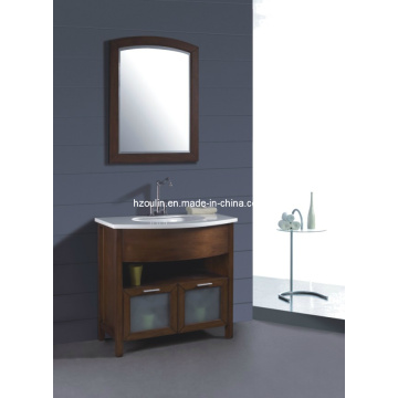 Solid Wood Bathroom Cabinet (B-244)