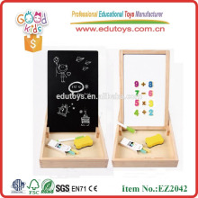 new product OEM natural wooden magnetic whiteboard in high quality Magnetic game box with patterns EZ2042