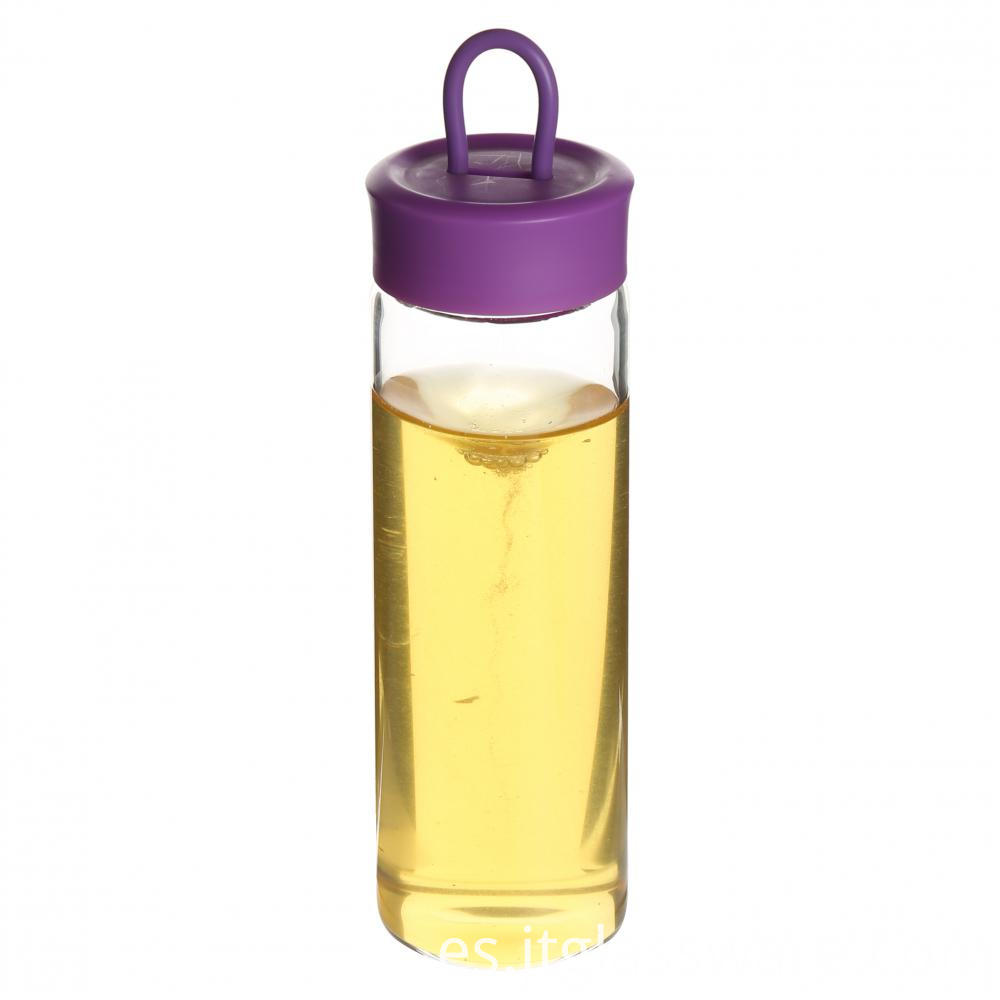 Glass Sport Water Bottle