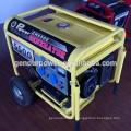 China 5KW baratos Silent 220 voltios Portable Generator