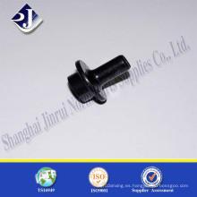 Proveedor de China no estándar negro galvanizado Zinc 8.8 perno de brida
