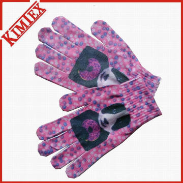 2016 Hot Sales Winter Warmer Sublimation Printing Promotional Glove
