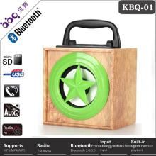 Fashion design good fm radio usb sd card reader speaker support FM function