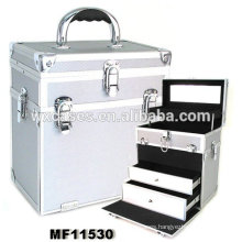 China high grade aluminum hairdressing case with customized size