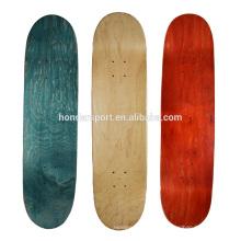 Montres de planche à roulettes en bois d'érable canadiennes de style nouveau bon marché en gros