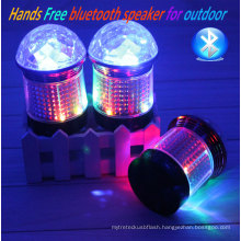 Hot Sale Mini LED Lighting Bluetooth Wireless Speaker
