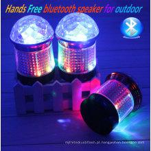 Venda quente Mini LED de iluminação sem fio Bluetooth Speaker