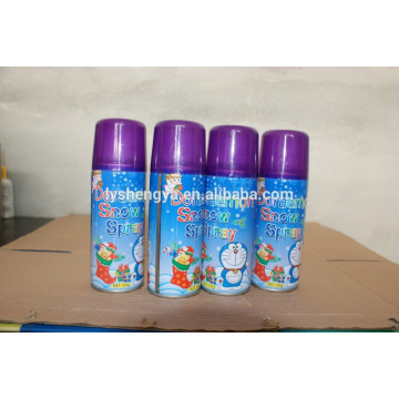 Meilleur prix de mariage Carnaval aérosol en conserve Doraemon Snow Spray