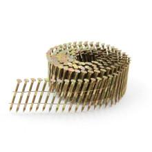 Pregos para telhado de aço inoxidável de haste de anel