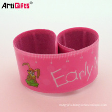 Promotion cheap reflective slap ruler bracelet