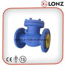 Поворотный обратный клапан DIN Pn16 с литой стальной крышкой