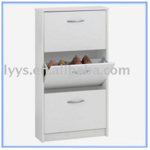 Popular Wall 3 shelf shoe rack cabinet for family shoe storage