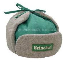 Sombrero / Gorro de invierno caliente con piel suave