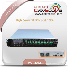 1550nm High Power 16 Pon Port EDFA/Amplifier Ea55-16