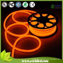(1 mètre) néon flexible de LED avec la voie régulière d'aluminium / PVC