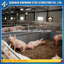 Light Steel Frame Sheds Galvanized Pig Farm House For Sale