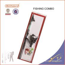 FDSF342 barra combo sólida Eposy juego en blanco varilla de juego barra de pesca combo