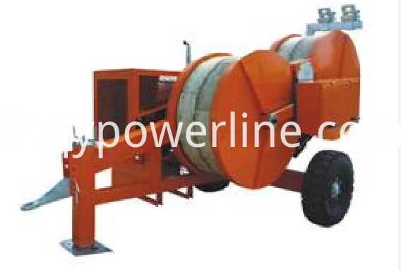 Hydraulic Self-propelled Conductor Puller