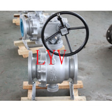 Full Port Trunnion Mounted Flanged Ball Valve