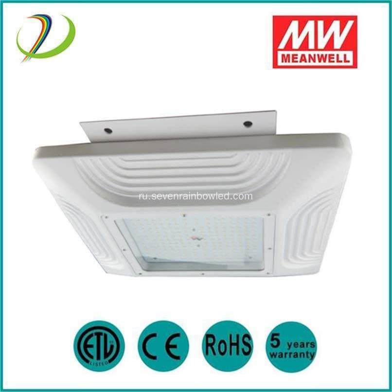 5 Years Warranty LED Gas Station Light 100W